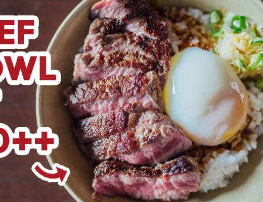 Five Ten - feature beef bowl