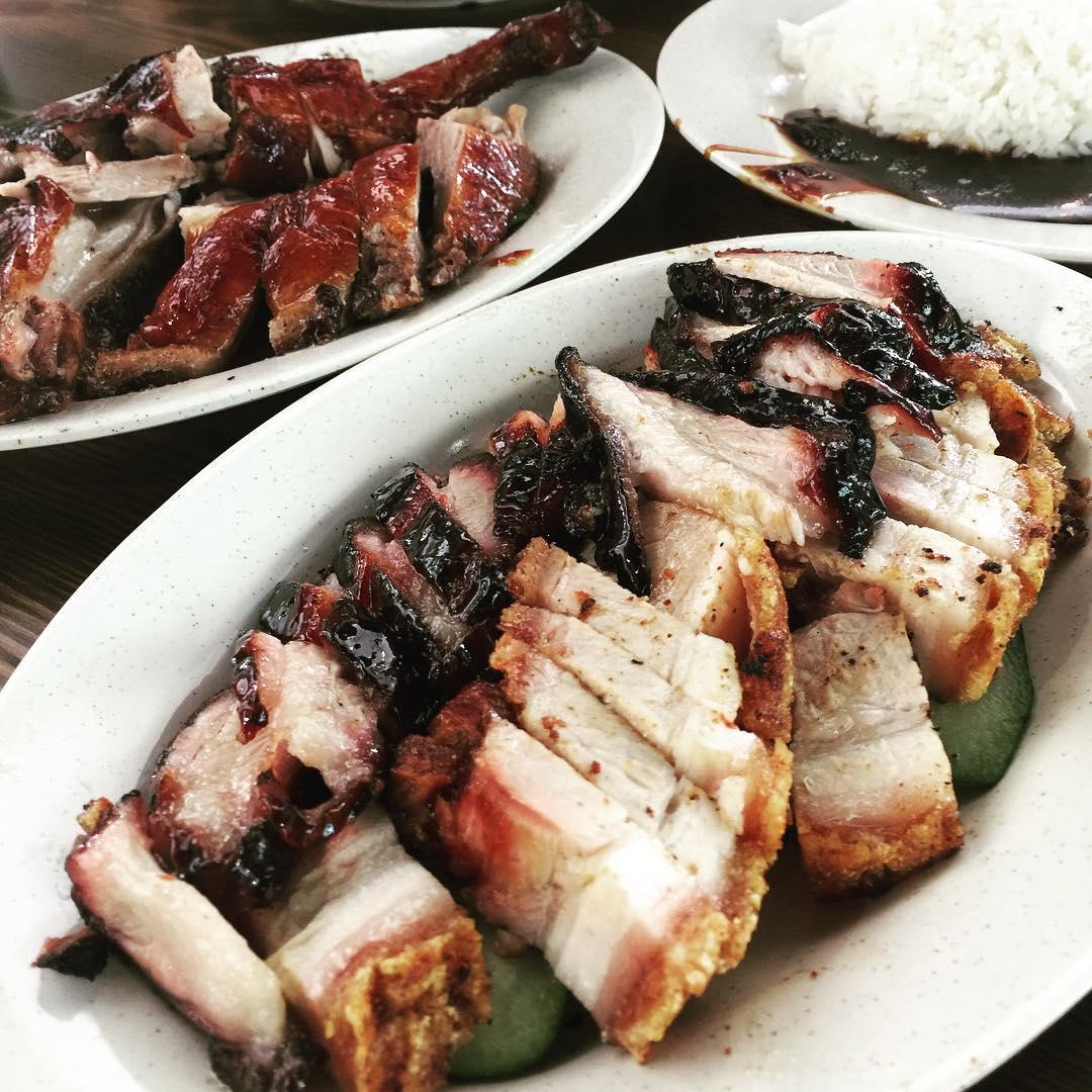 Jalan Besar hawker - 88 hk roast meat