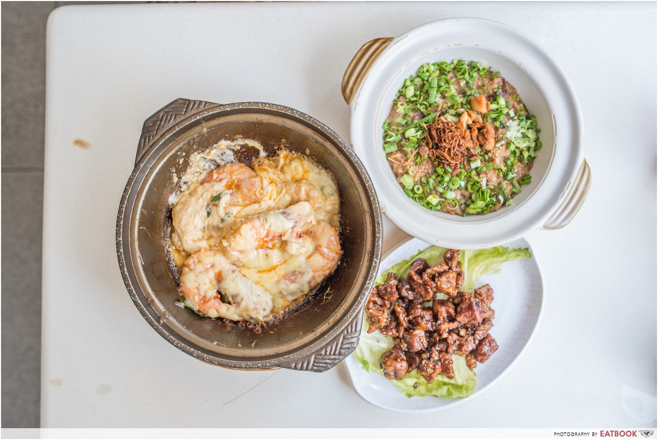 Jalan Besar hawker - fried porridge