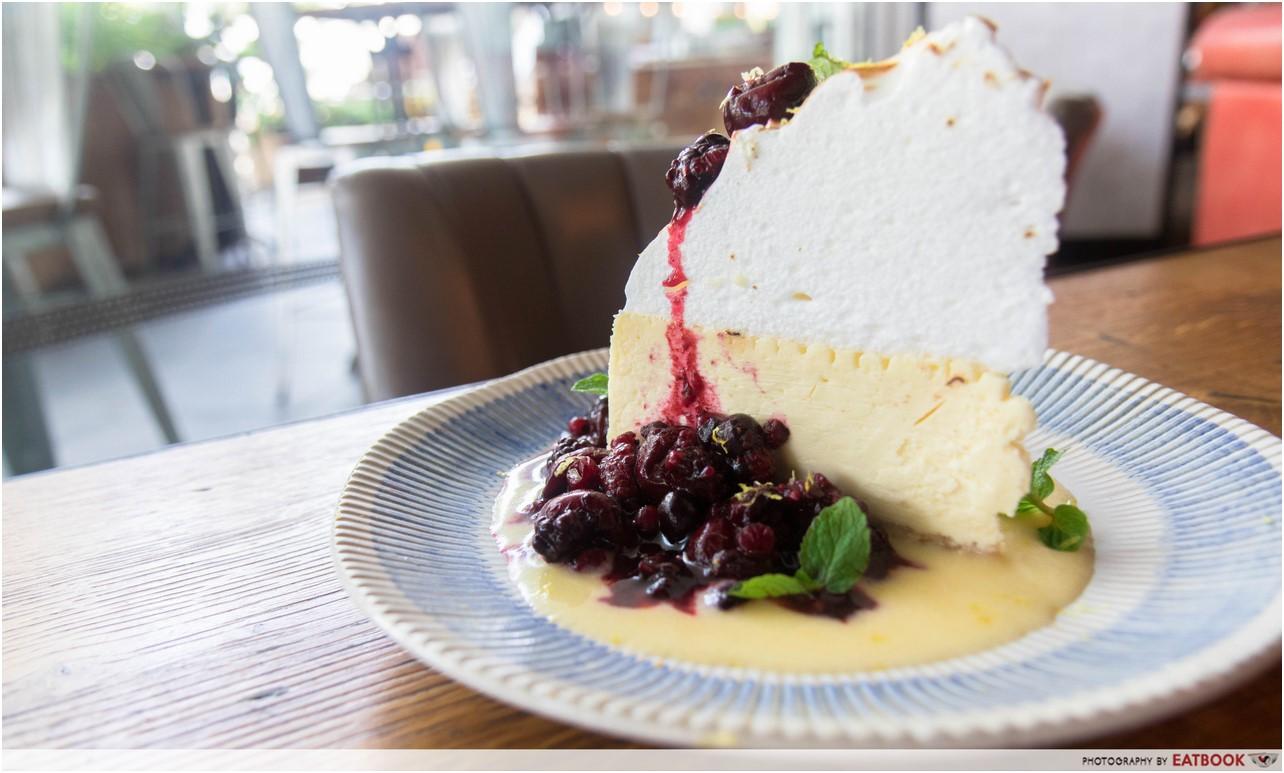Jamie's Italian - cheesecake