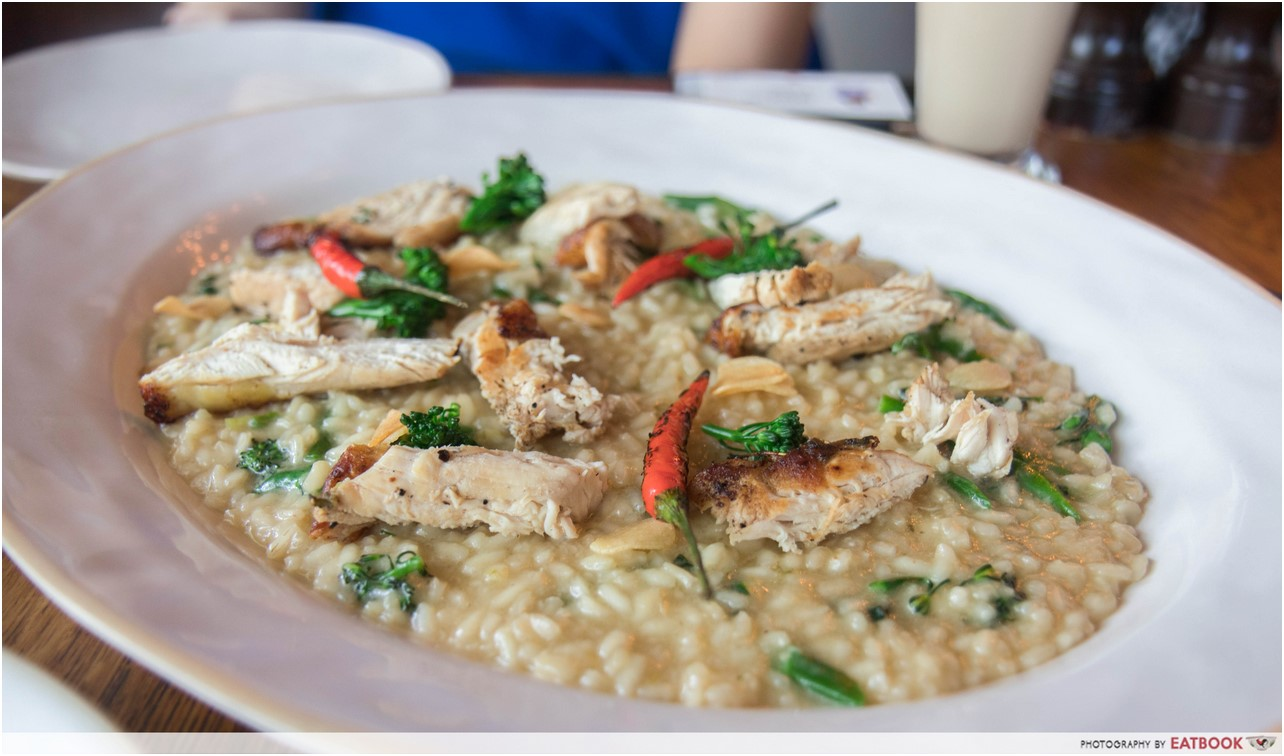 Jamie's Italian - chicken risotto