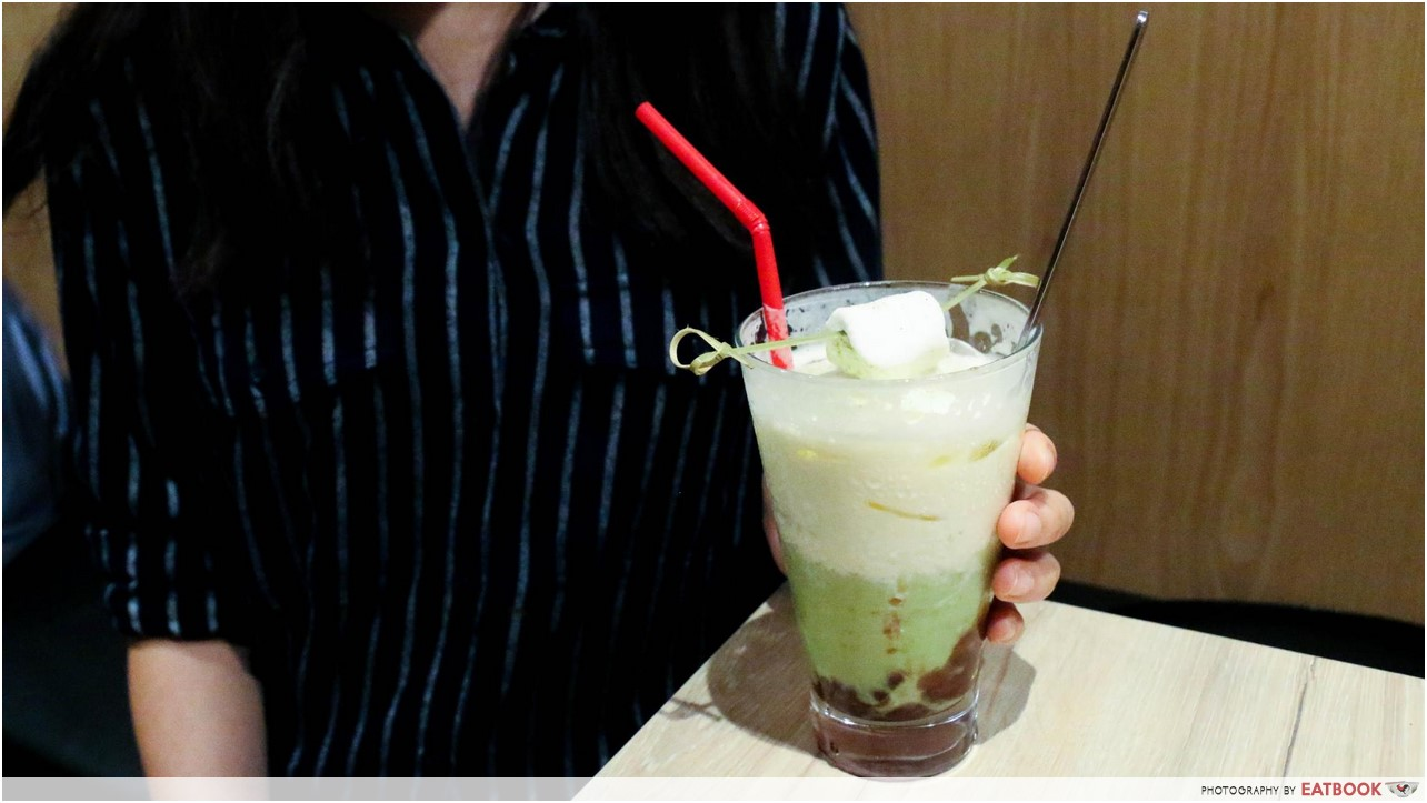 Kogane Yama - matcha latte