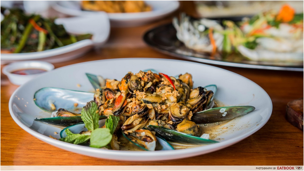 Smith Marine - oyster omelette