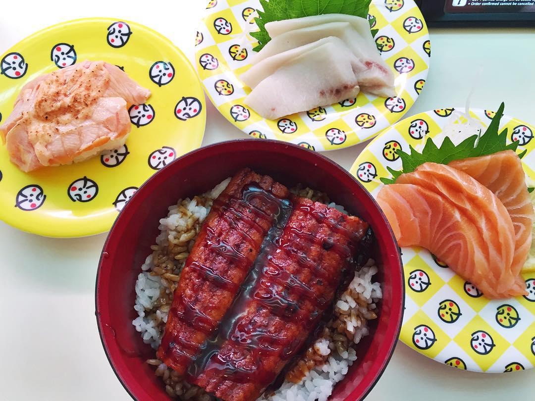 Unagi don - Genki Sushi