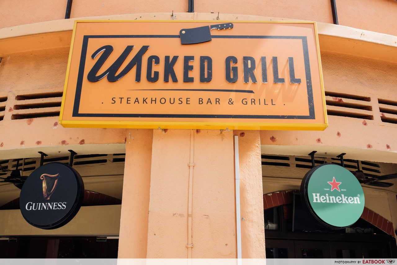 Wicked Grill - signboard
