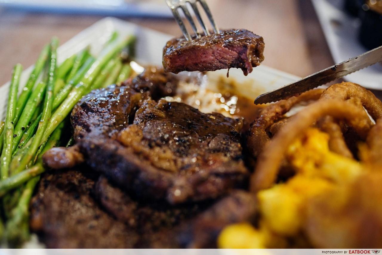 Wicked Grill - steak