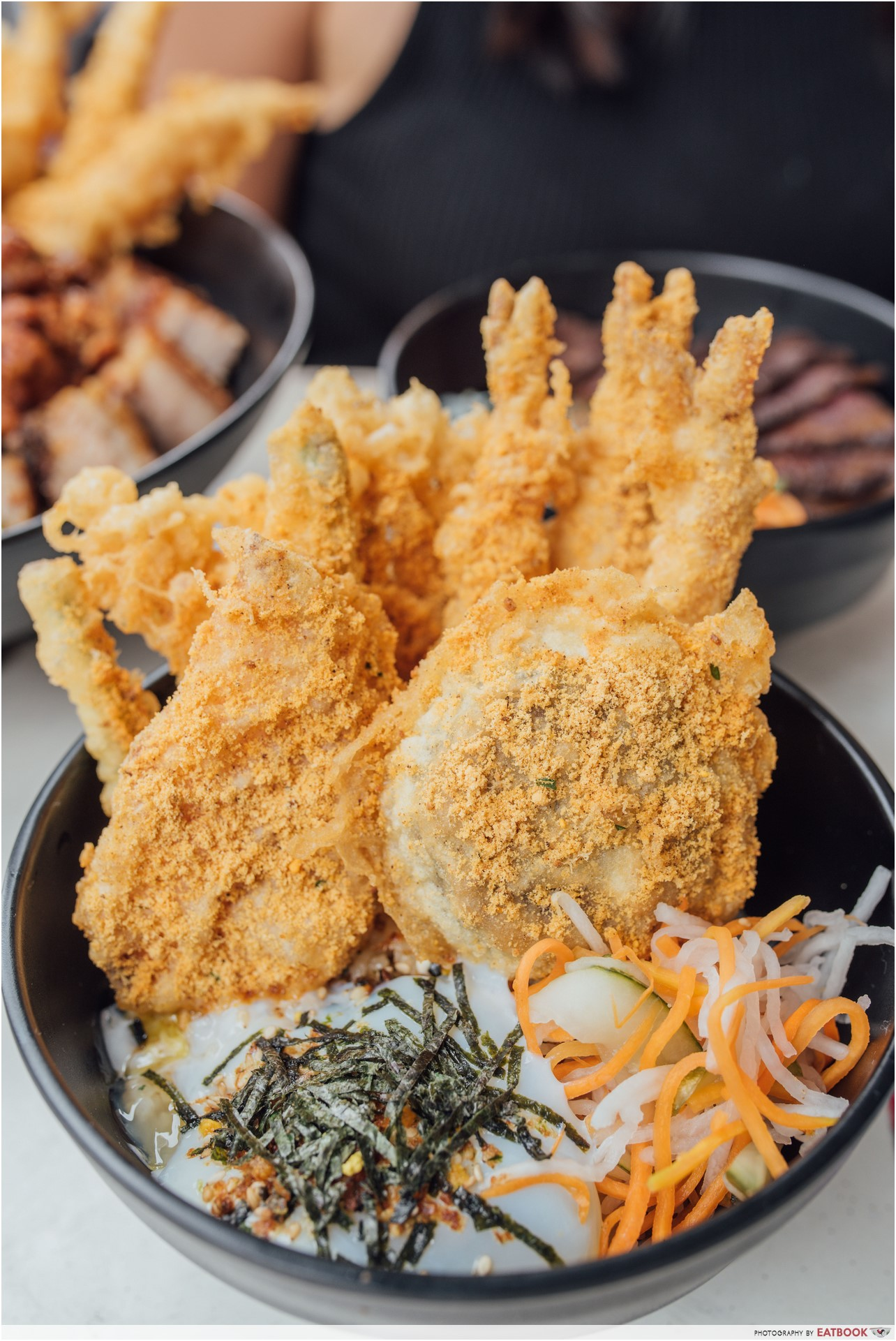 affordable tempura don - don