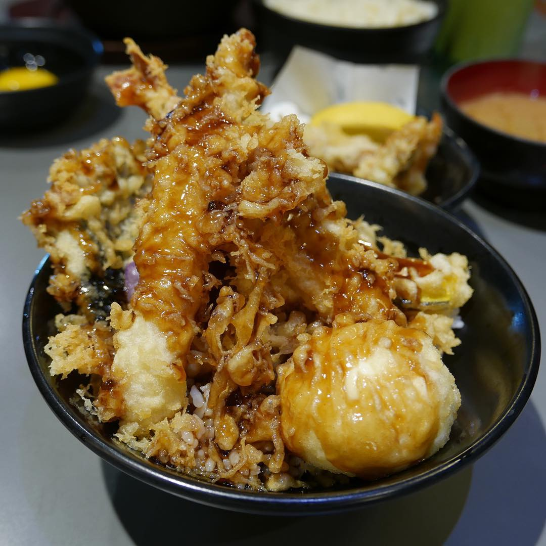 affordable tempura don - koh grill