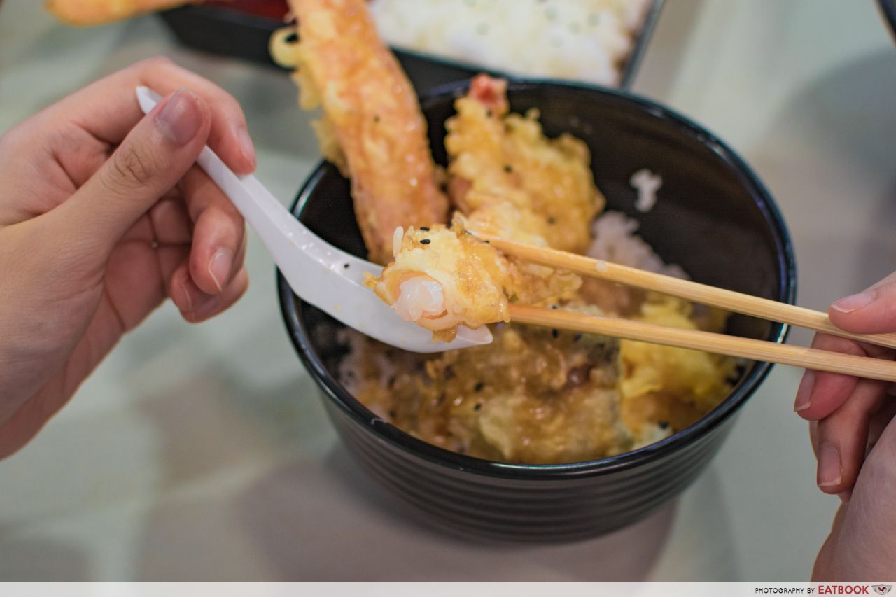 affordable tempura don - konomi zen