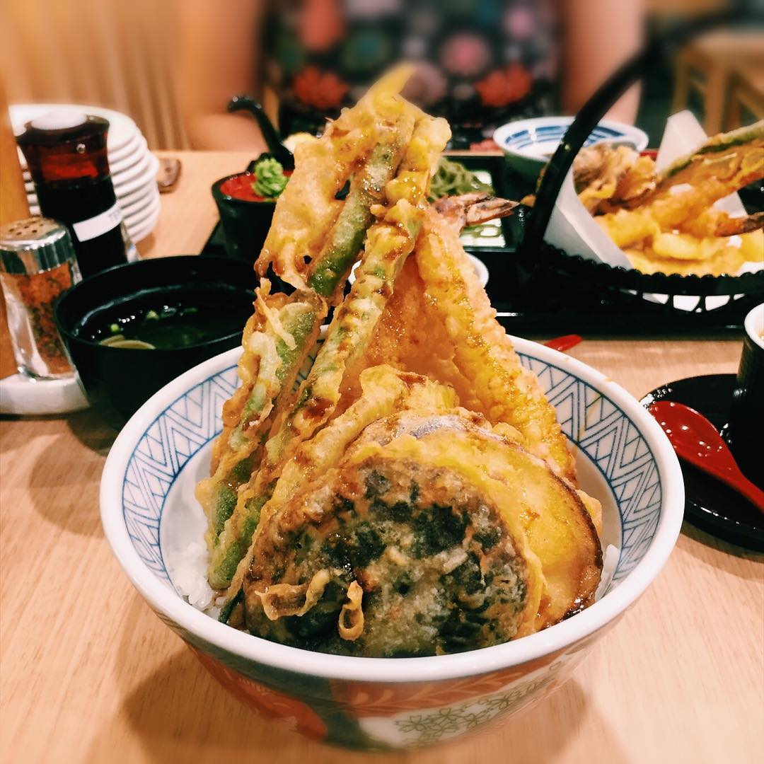 affordable tempura don - tensho