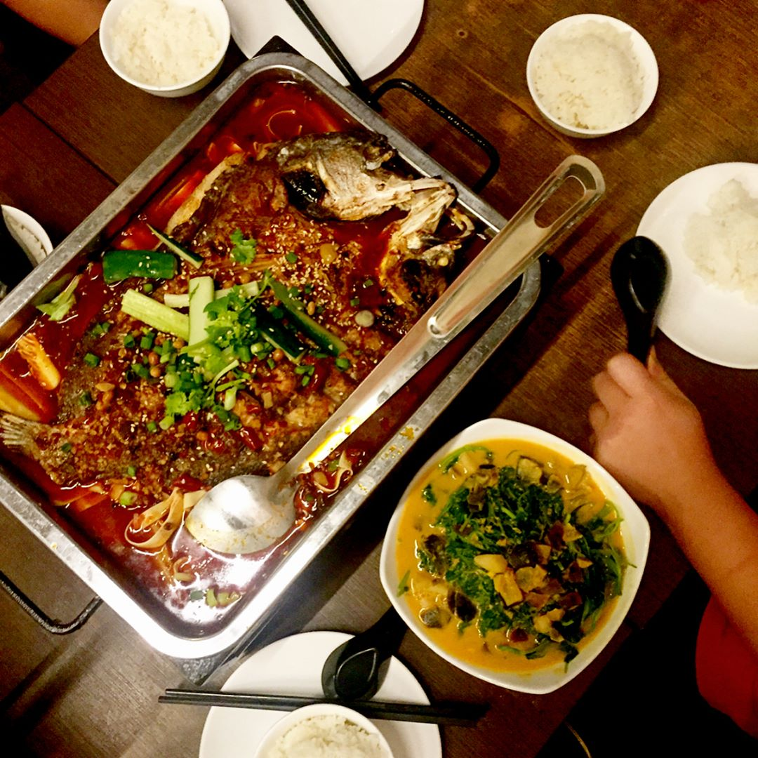 customisable spicy food - chongqing grilled fish