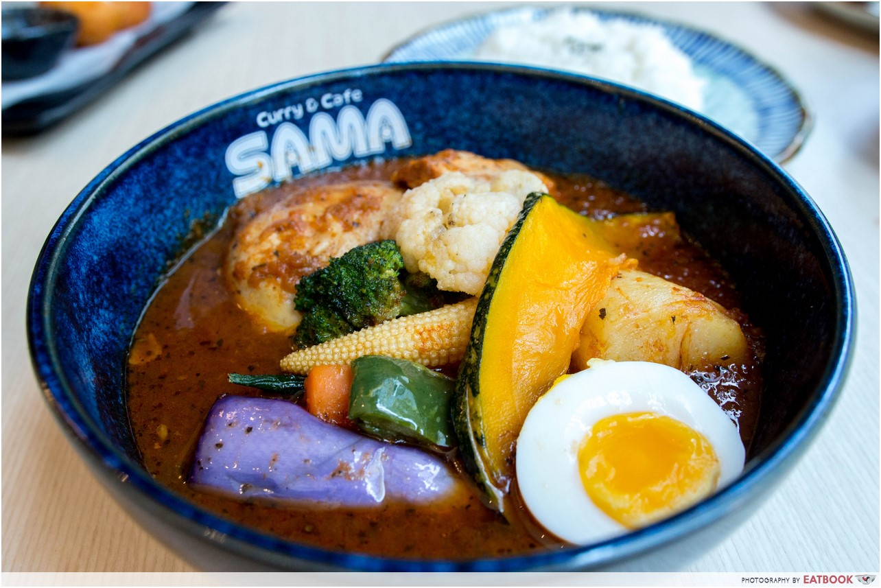 customisable spicy food - sama curry