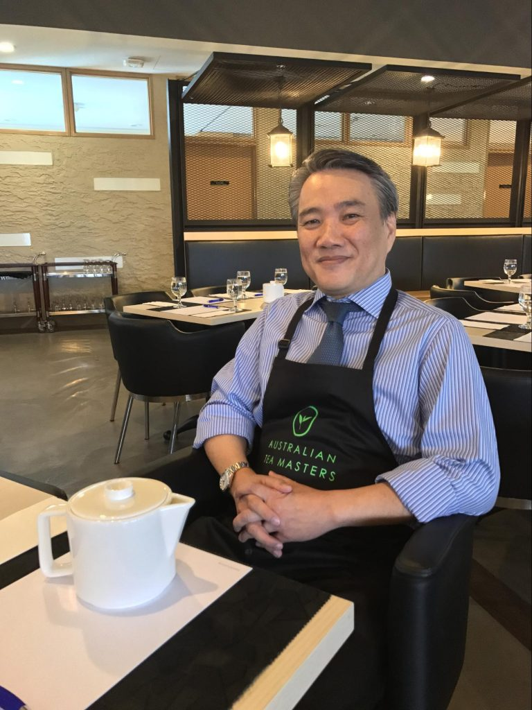 e2i tea masterclass - Mr David Chan