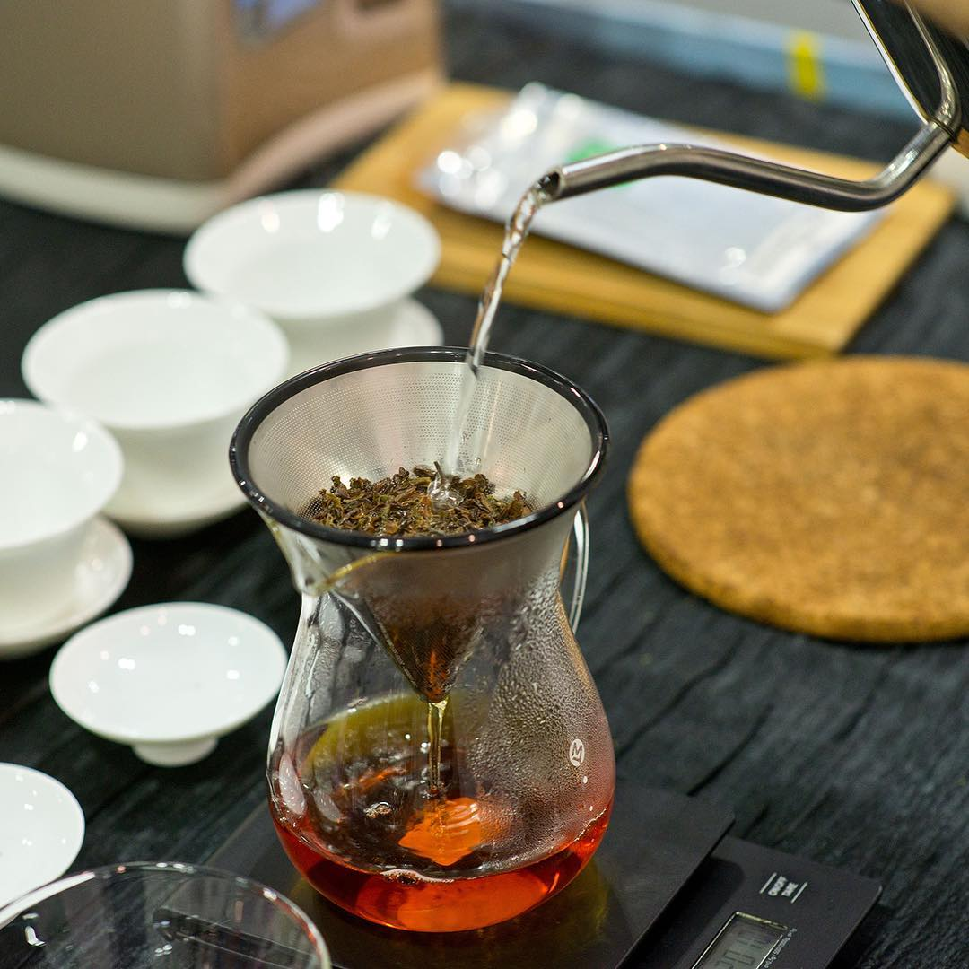 e2i tea masterclass - brewing