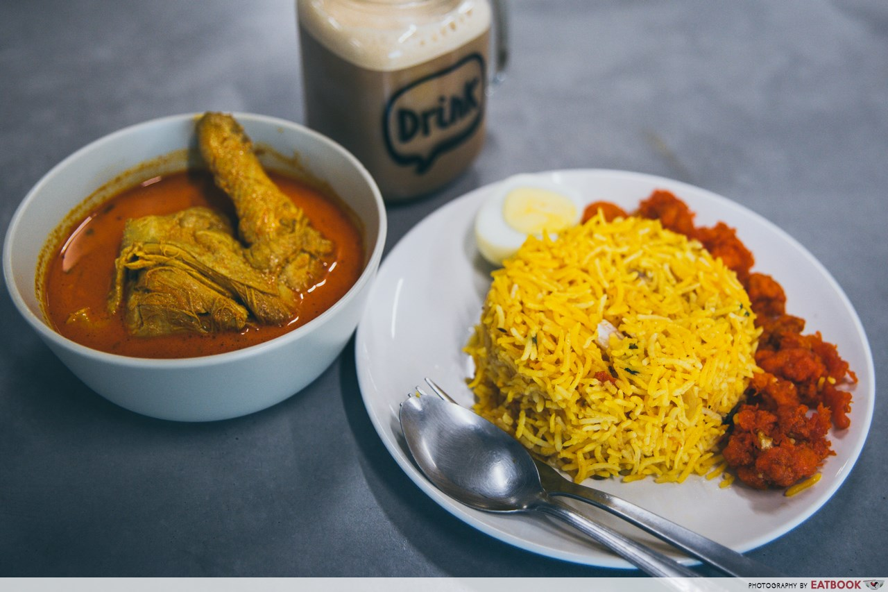 food delivery lobangs - kings briyani