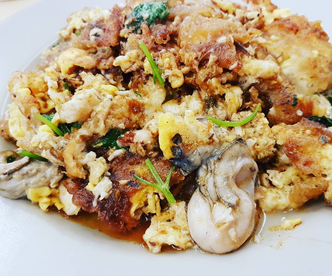 hougang food - hougang fried oyster