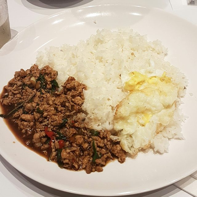 hougang food - thai super bowl