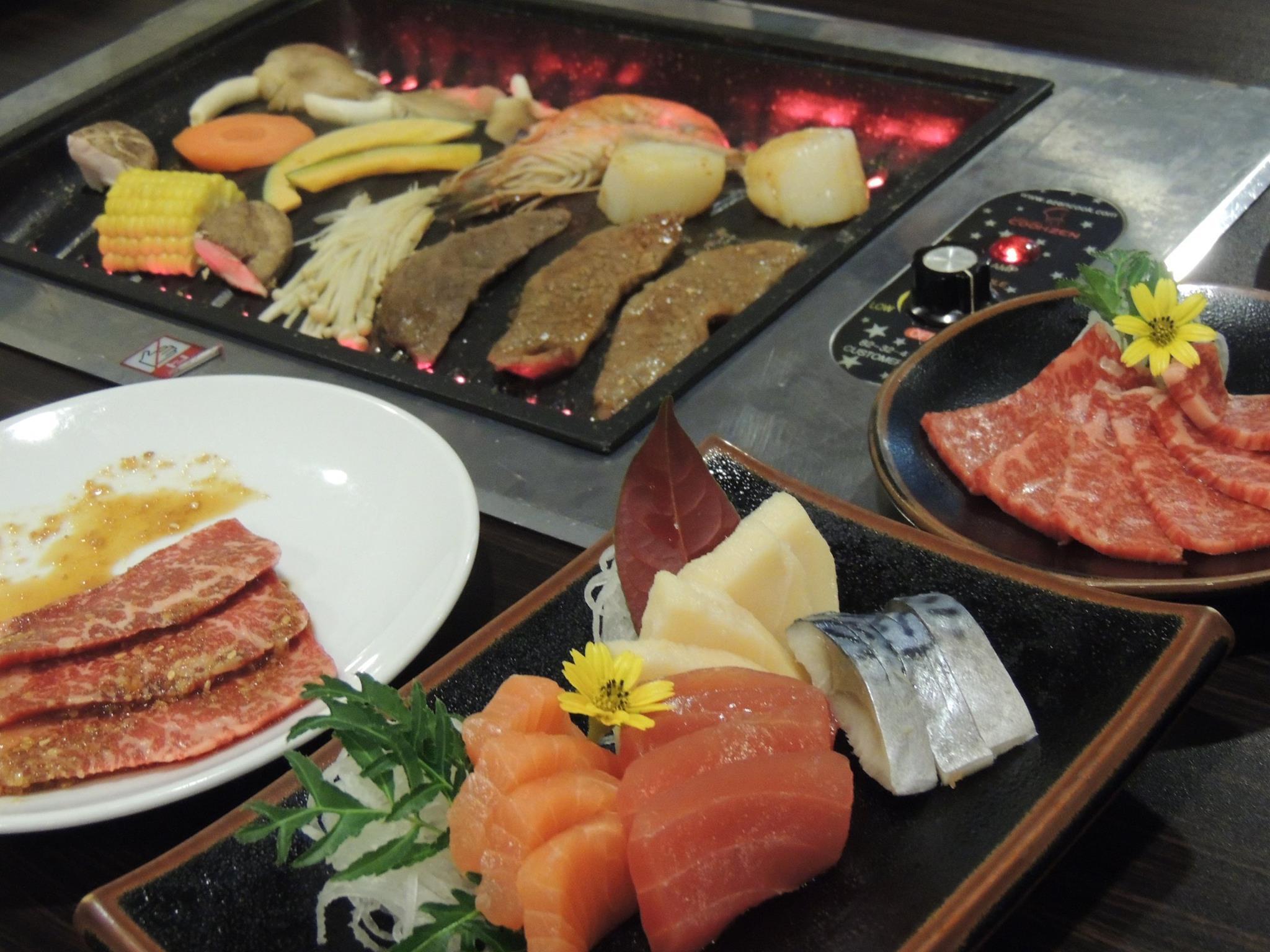 wagyu buffet - sashimi