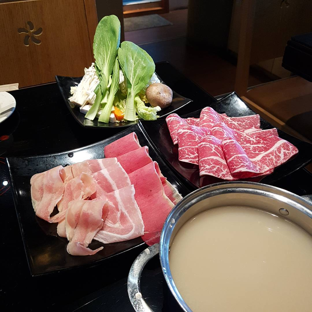 wagyu buffet - shabuya and shochu