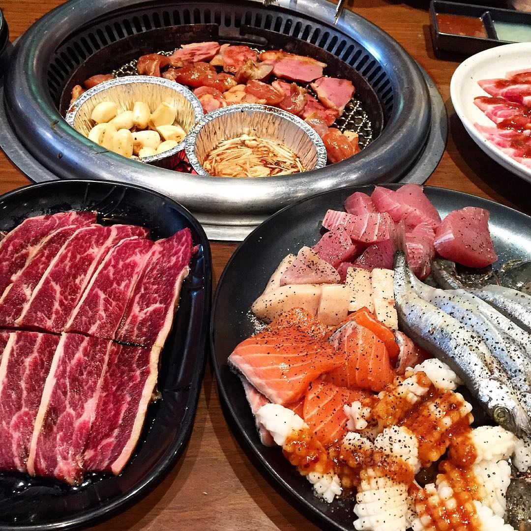 wagyu buffet - tajimaya