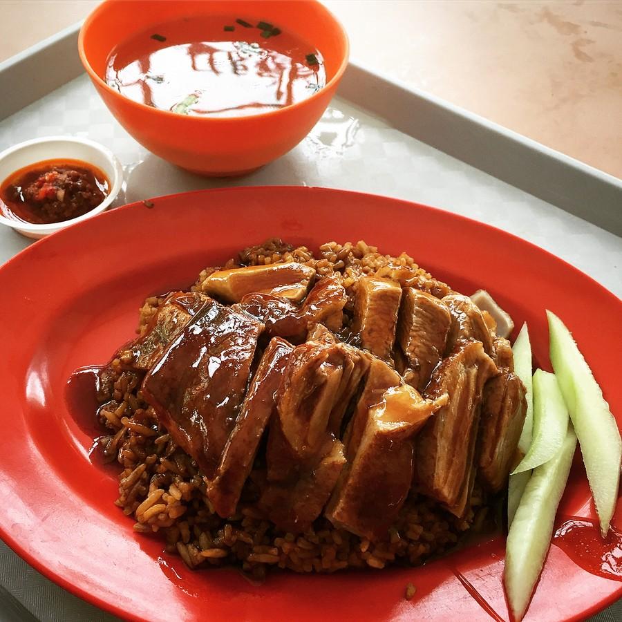 whampoa market - duck rice