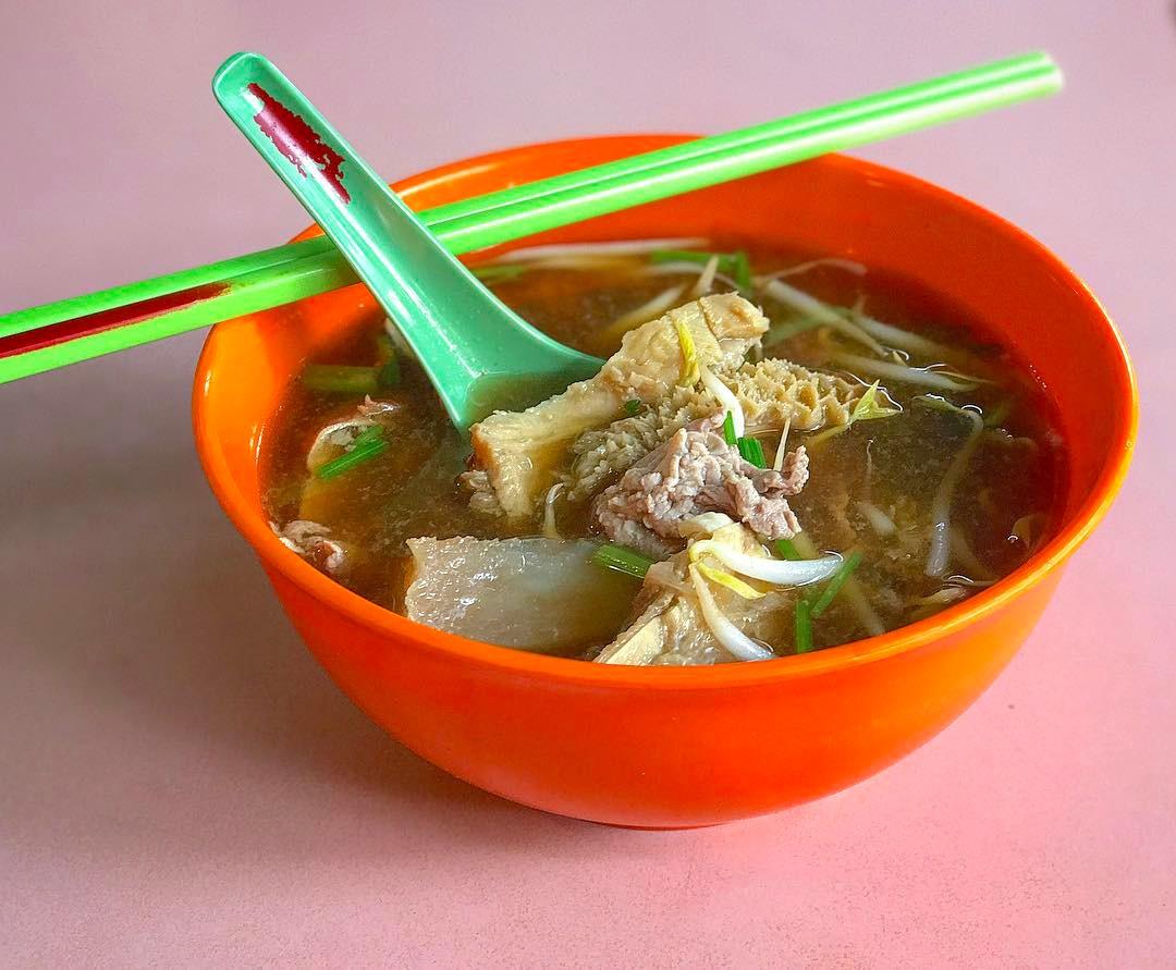whampoa market - beef noodles