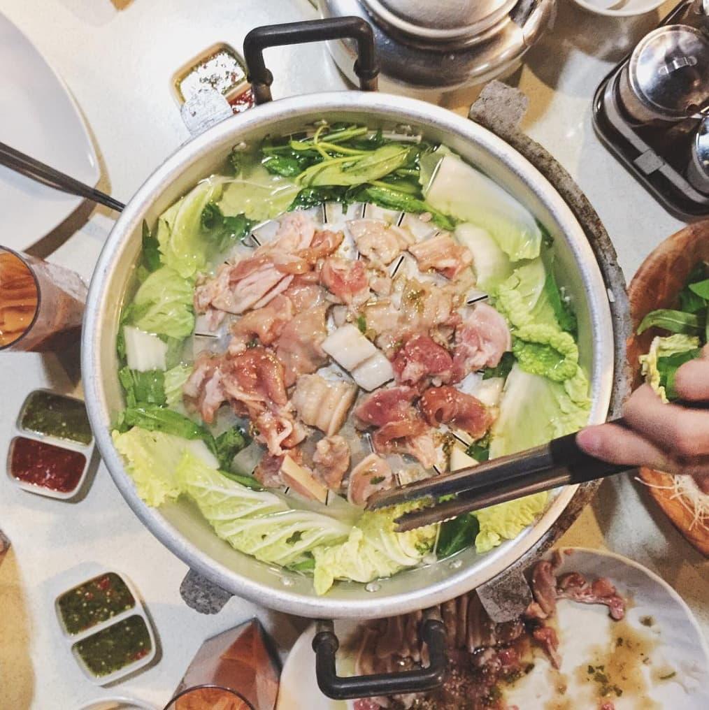 Affordable Mookata - Spicy Thai