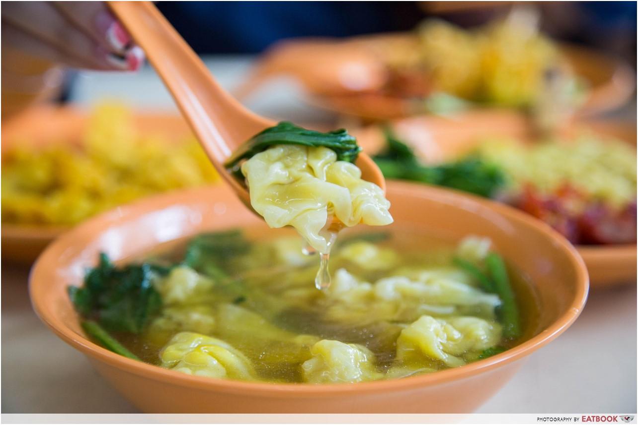 chilli king - soup wonton