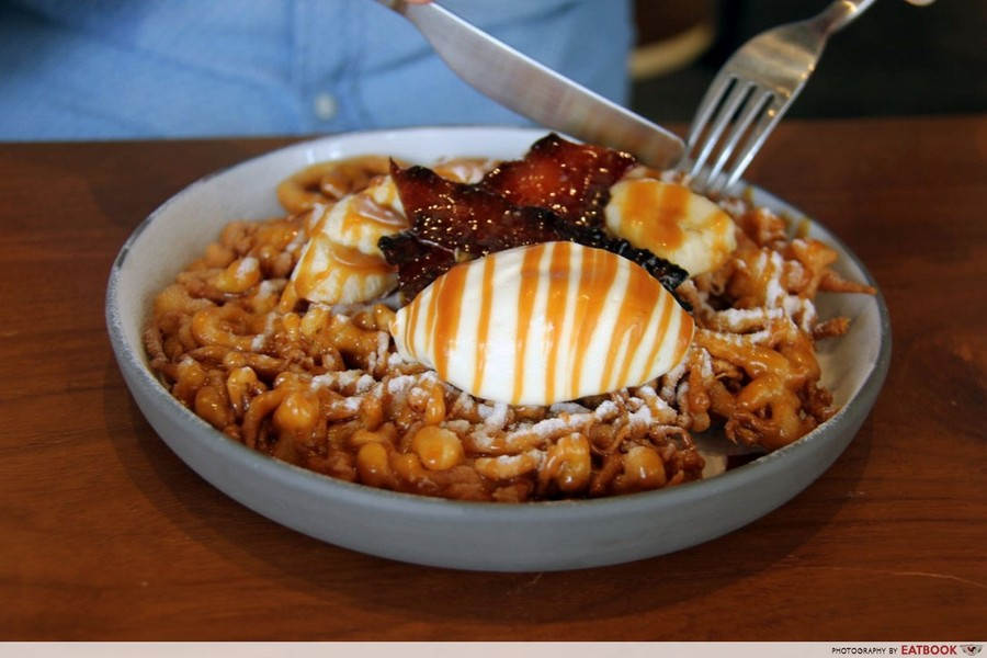 Crackerjack Funnel Cake