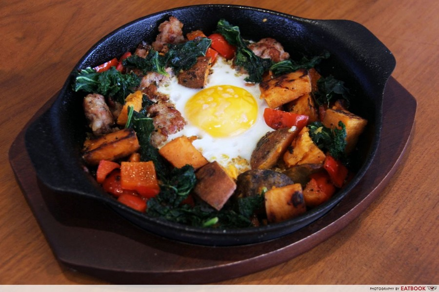 Crackerjack Sweet Potato Hash