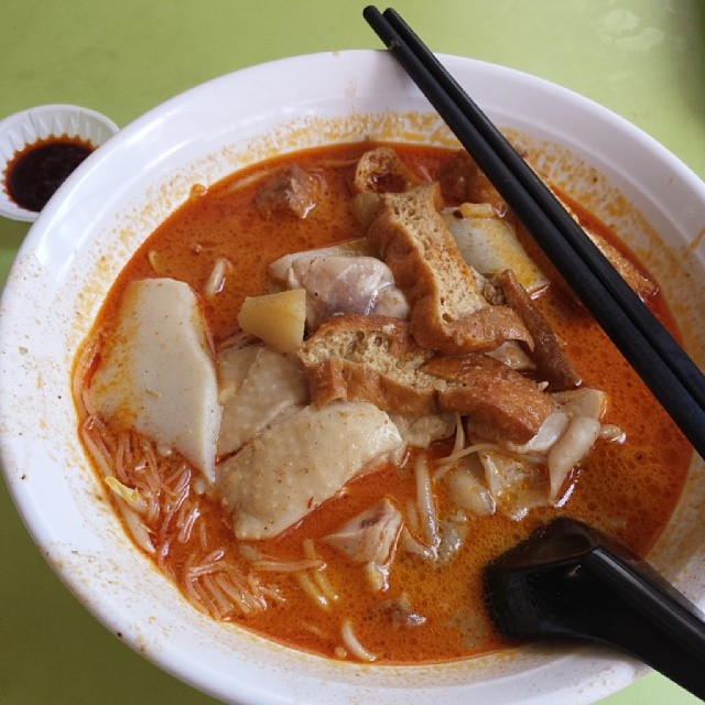 Curry Chicken Noodles - ah heng