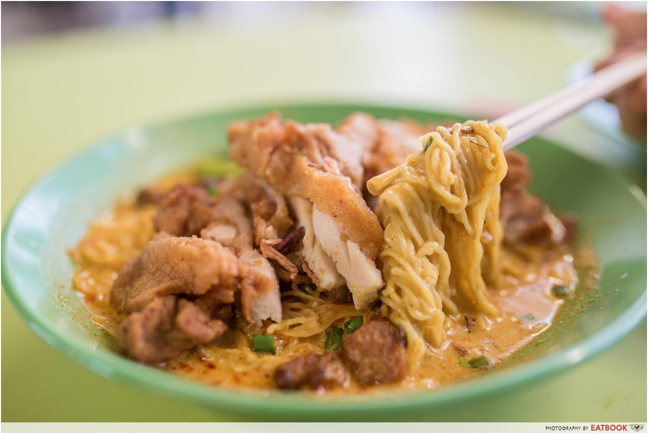 Curry Chicken Noodles - cantonese delights