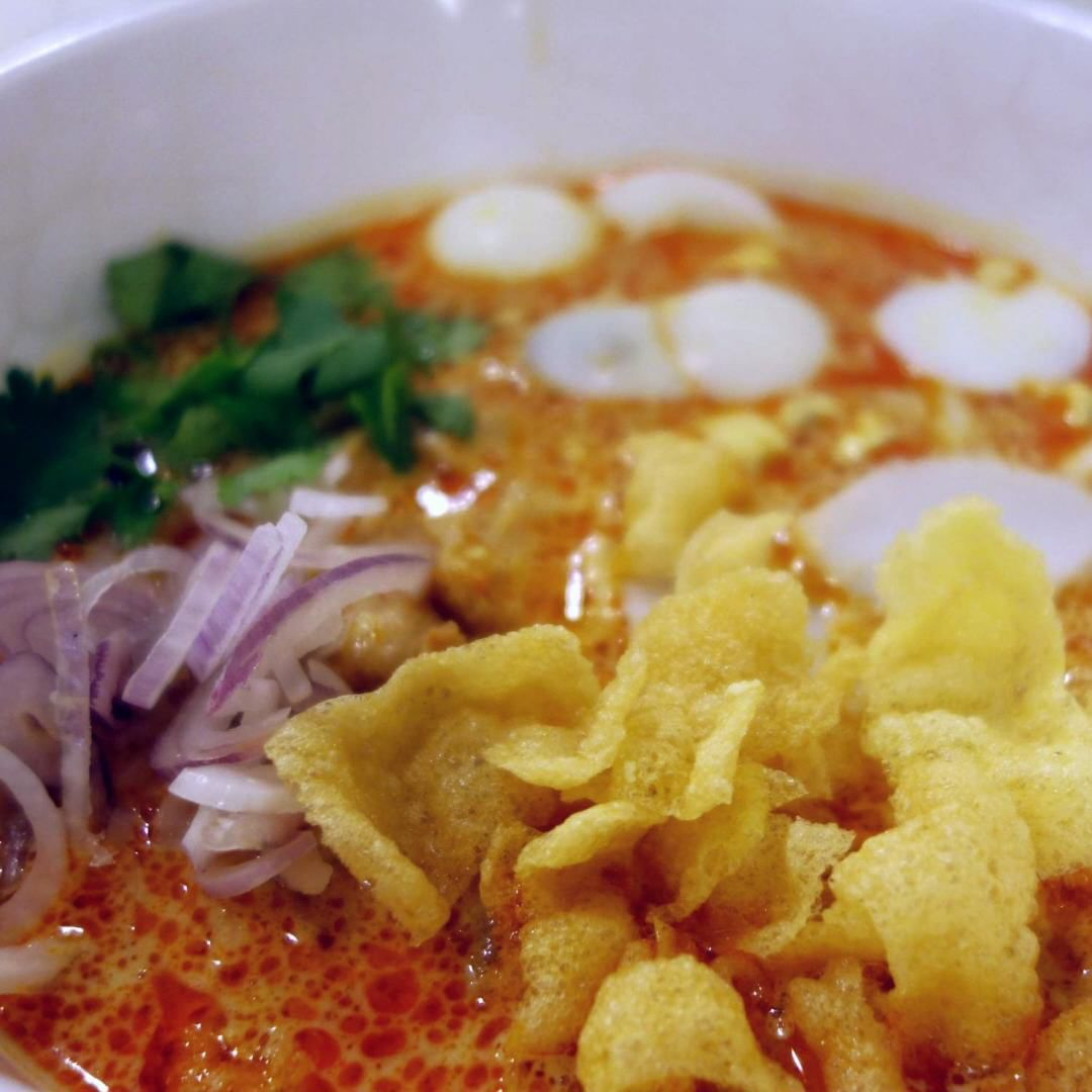 Curry Chicken Noodles - inle myanmar