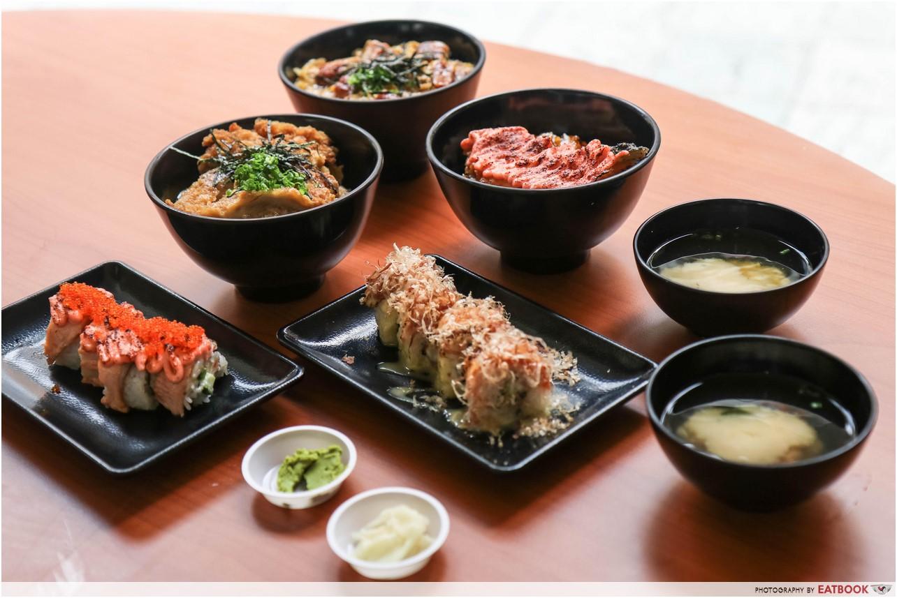Donya Japanese Cuisine - first