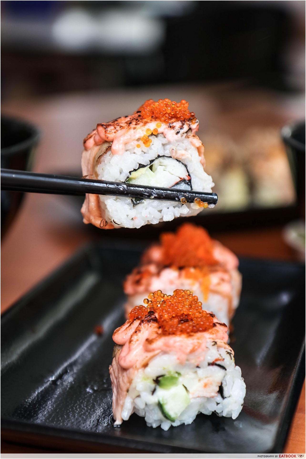 Donya Japanese Cuisine - maki mentai