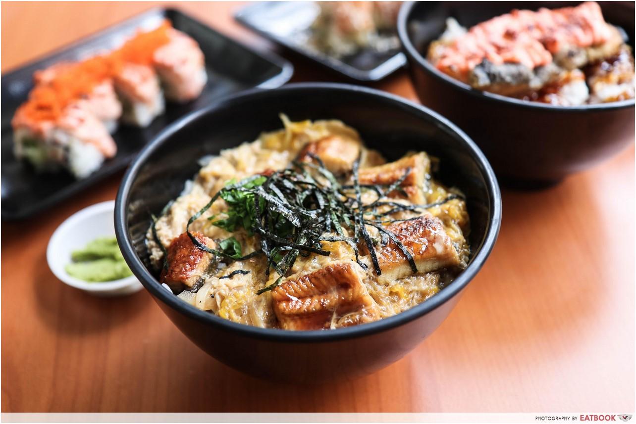 Donya Japanese Cuisine - unagi