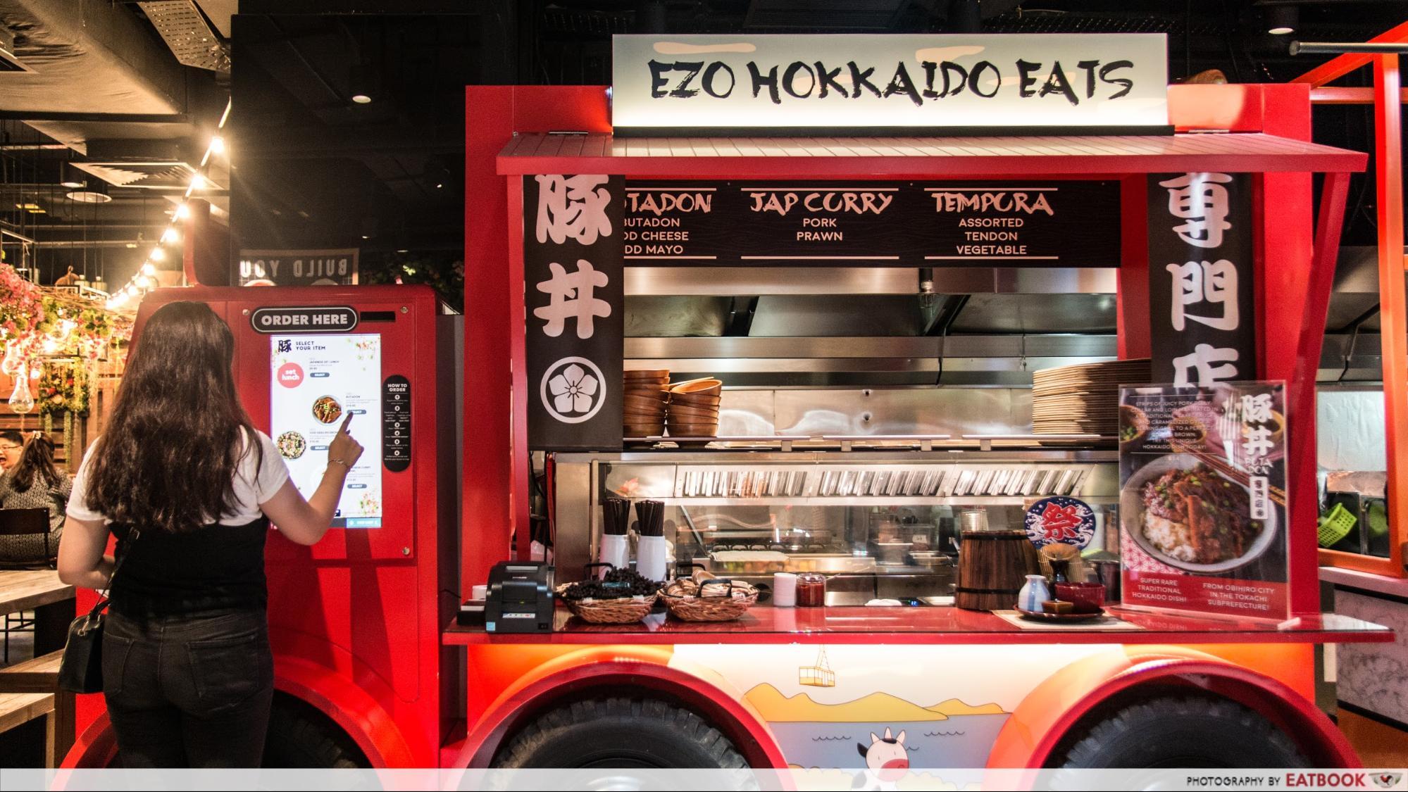 Ezo-Hokkaido Eats - machine