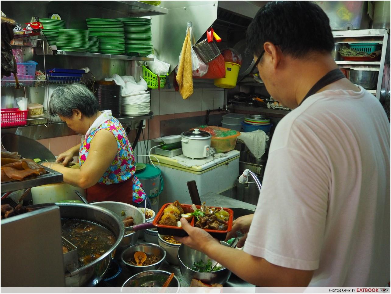 Jin Ji Braised Duck - serving (Copy)