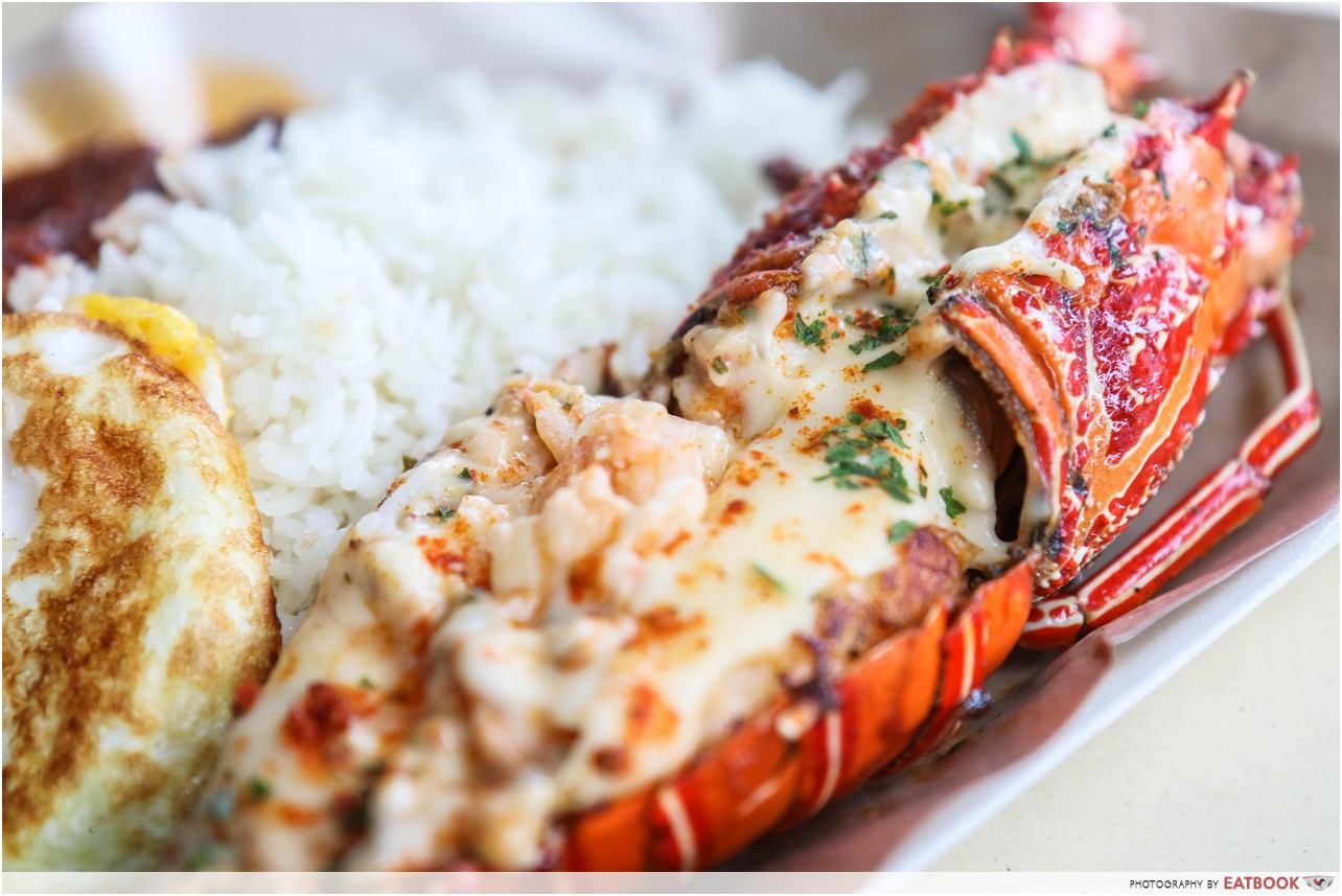 Lawa Bintang - cheese lobster