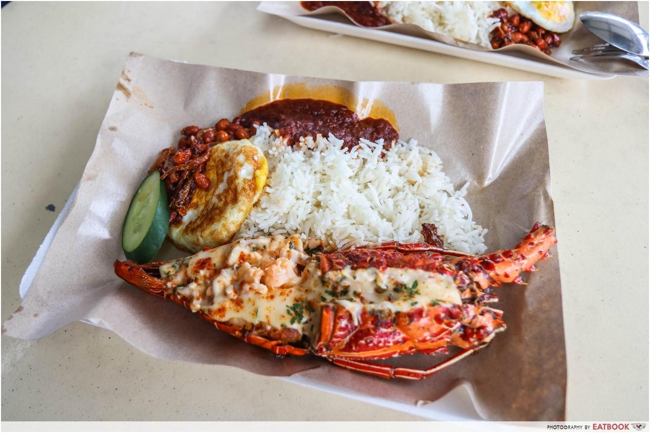 Lawa Bintang - lobster nasi lemak