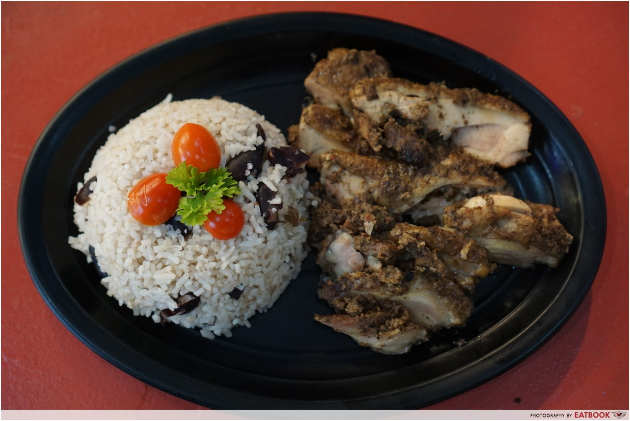 Mike's Caribbean Food - chicken