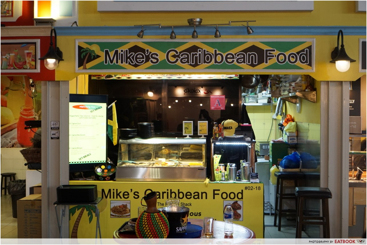 Mike's Caribbean Food - stall