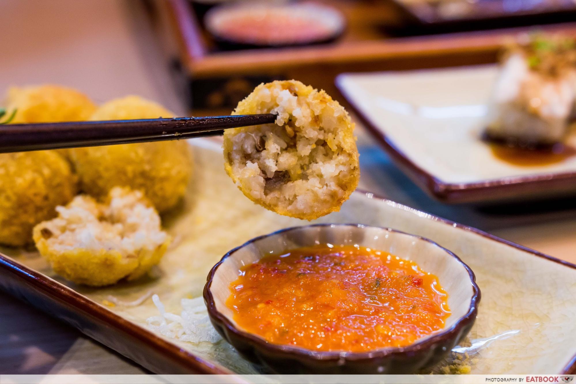 Roost - crispy chicken rice balls2