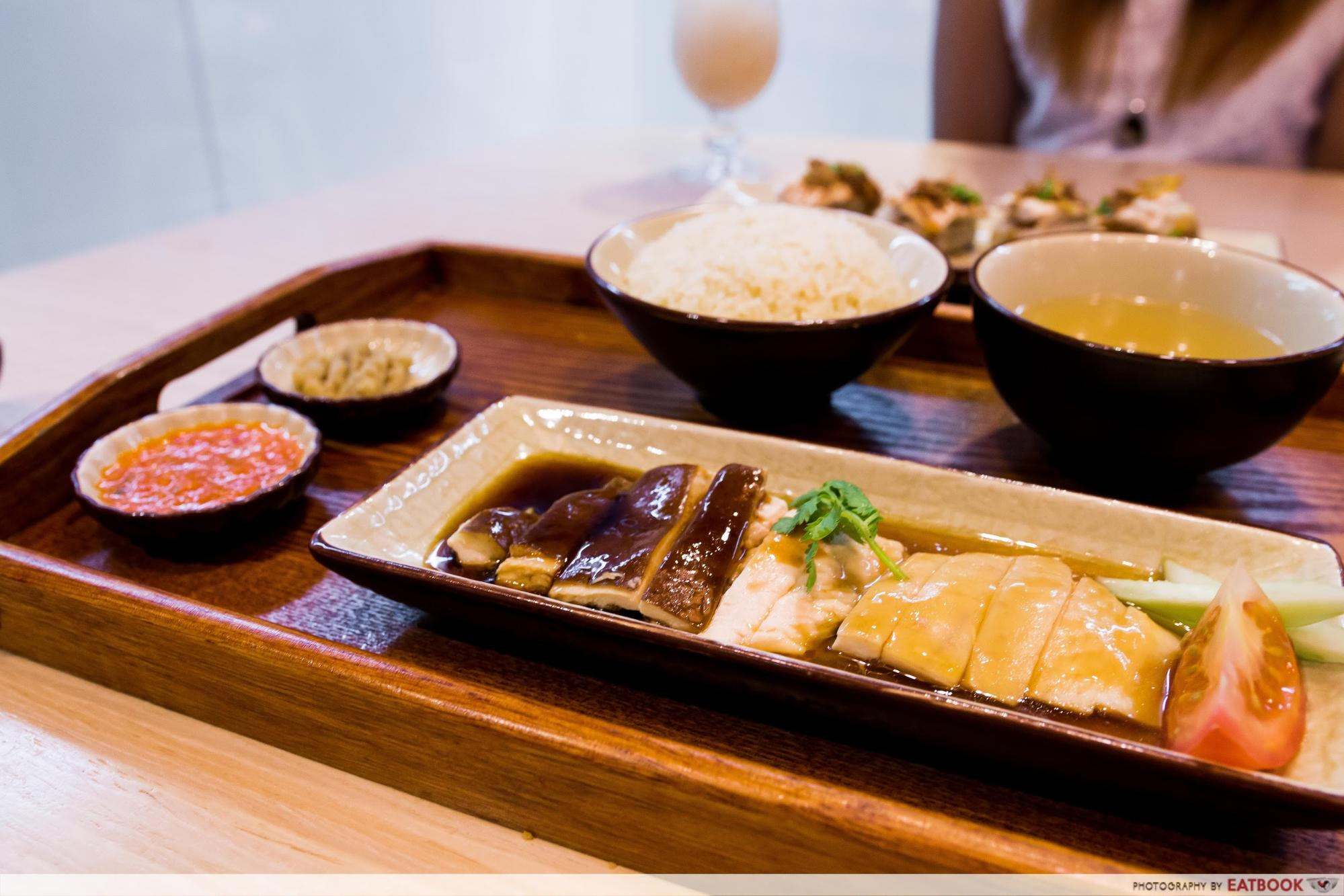 Roost - yin yang chicken rice 1