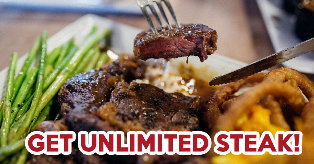 Steak buffet- feature image