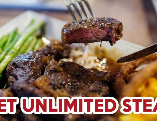 Steak buffet- feature image