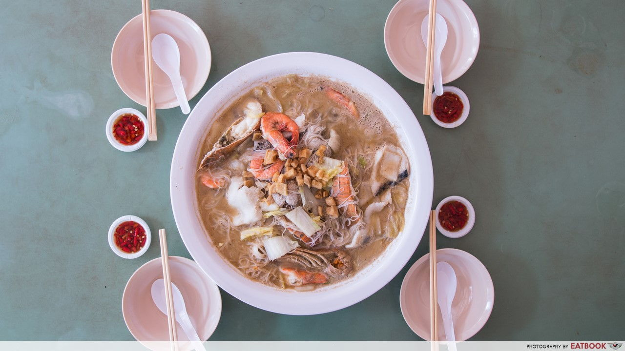 Hawker Seafood Soups - 10 ww