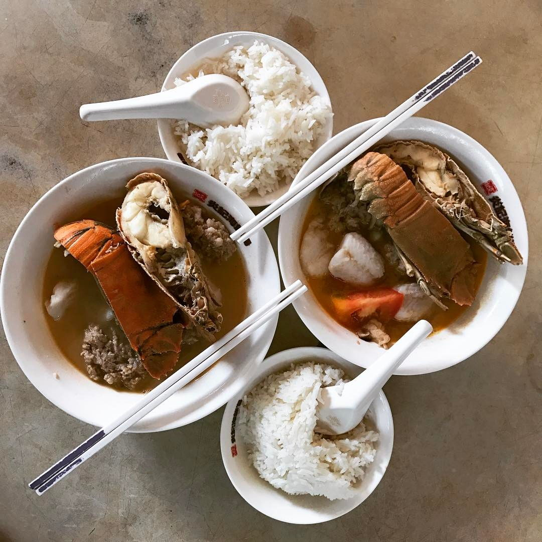 Hawker Seafood Soups - 4 yj