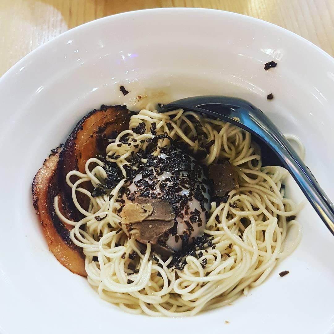 Tsukemen - truffle