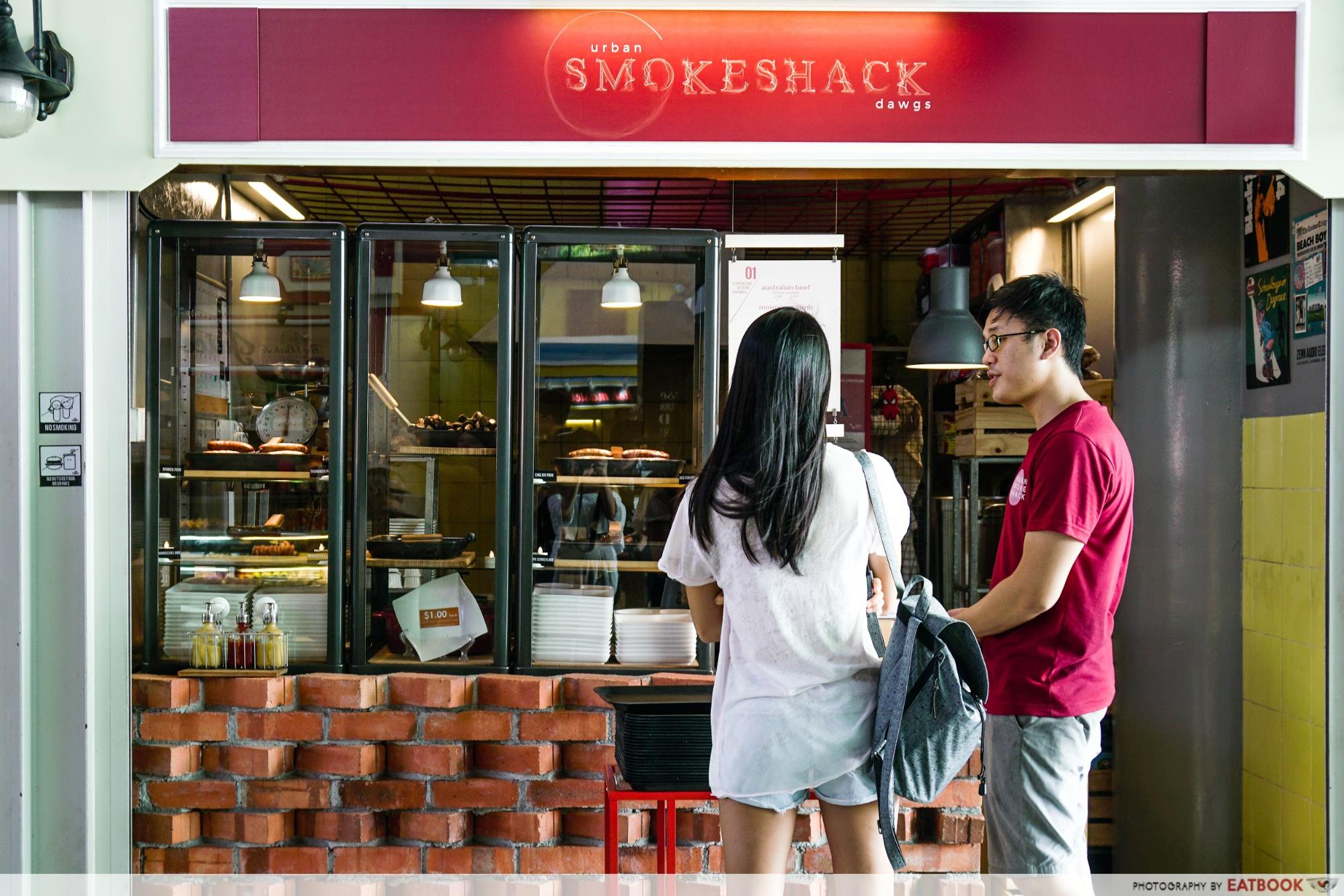 Urban Smokeshack - stall front